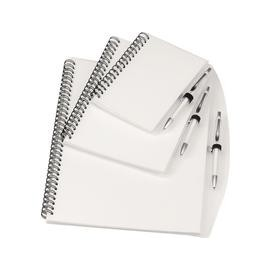 Note Book med kuglepen. A4 + A5 - A6
