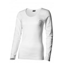Sense Lady - Langærmet Rib T-shirt