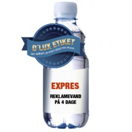 Aqua -KVIK - EXPRESS Kildevand med logo