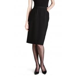 Medium fit - kort lige nederdel
