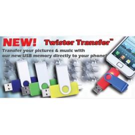USB NYHED TWIST USB STIK til mobil