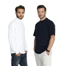 T-Time T-Shirt med rullekrave