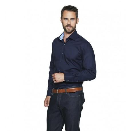 Easy Iron-Skjorte Kontrast